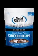 NutriSource Pet Foods NUTRISOURCE SOFT & TENDER BITES CHICKEN RECIPE 6OZ