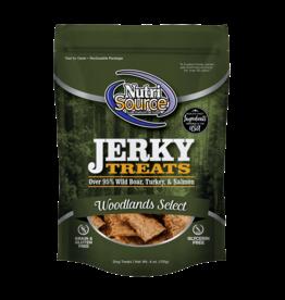 NutriSource Pet Foods NUTRISOURCE DOG WOODLANDS SELECT JERKY TREATS 4OZ