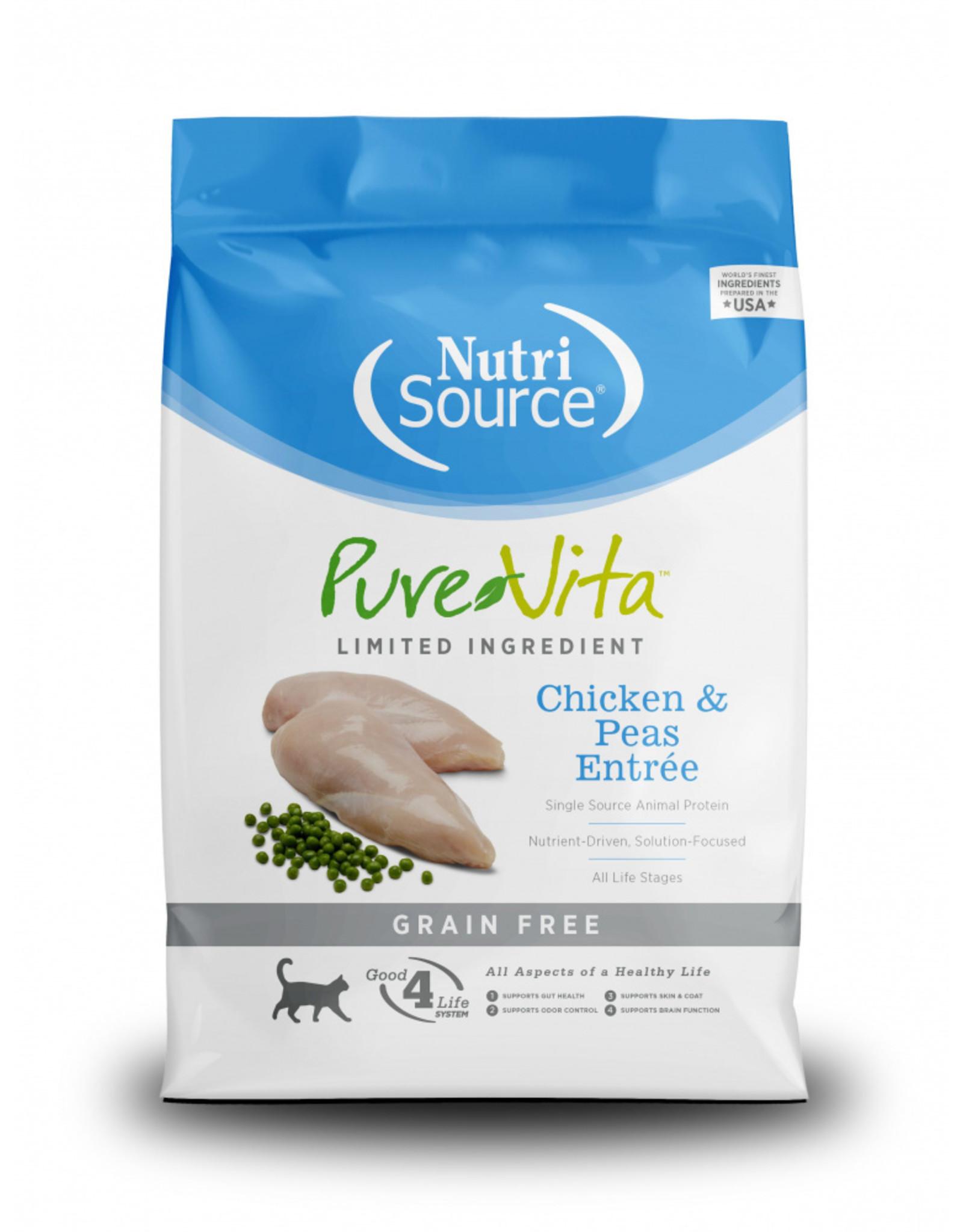 NutriSource Pet Foods PUREVITA CAT CHICKEN & PEAS ENTRÉE