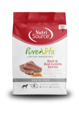 NutriSource Pet Foods PUREVITA DOG BEEF & RED LENTILS ENTRÉE