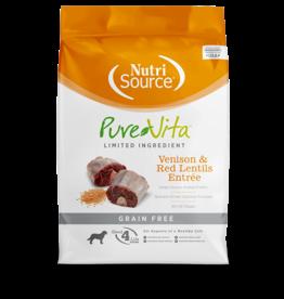 NutriSource Pet Foods PUREVITA DOG VENISON & RED LENTILS ENTRÉE