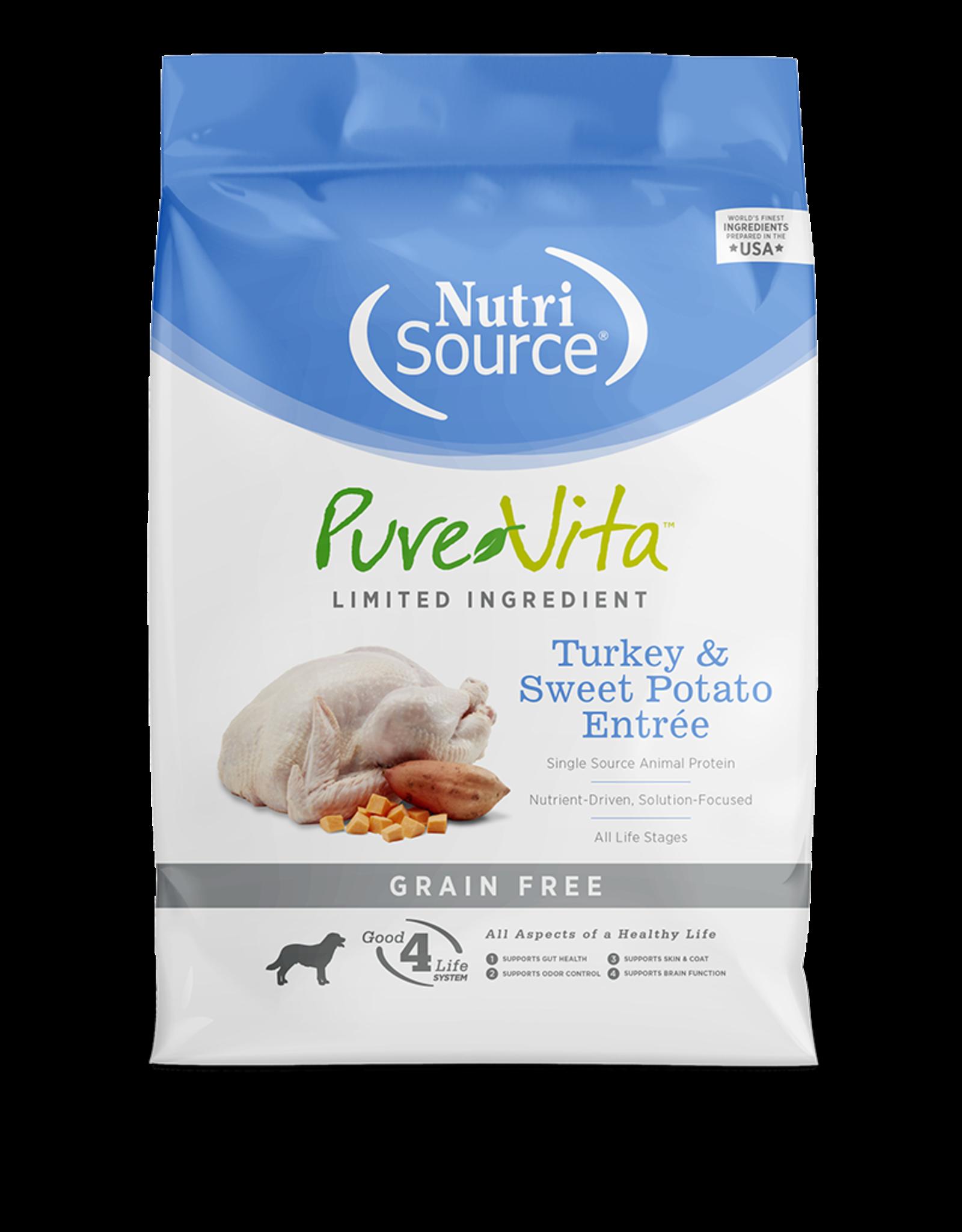 NutriSource Pet Foods PUREVITA DOG TURKEY & SWEET POTATO ENTRÉE