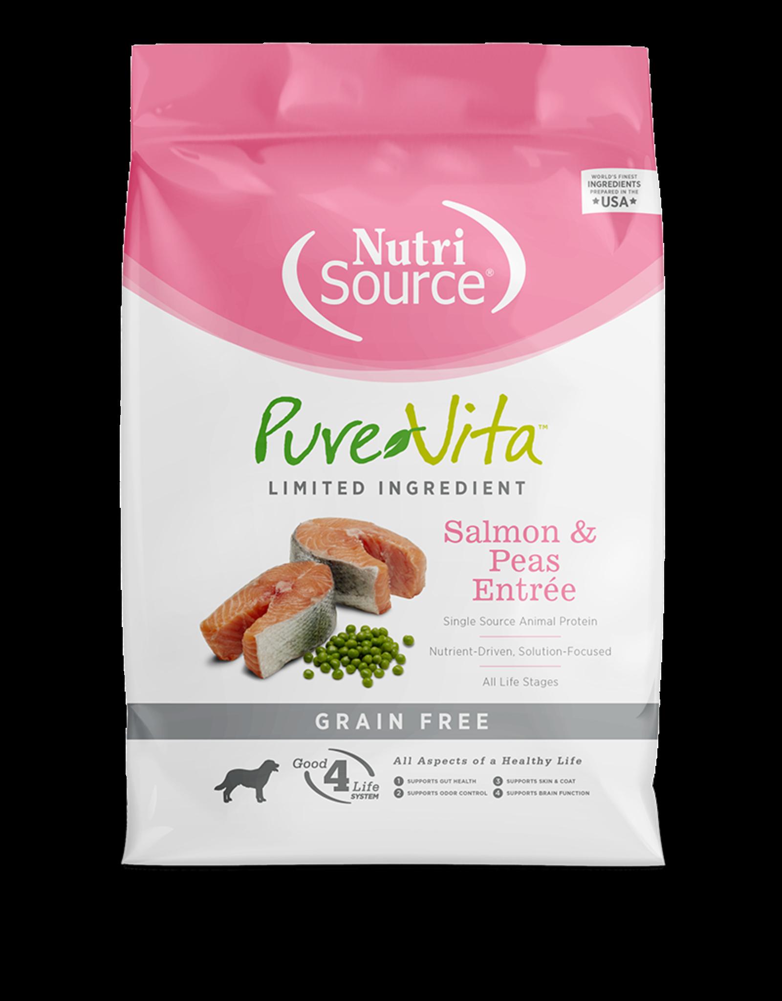 NutriSource Pet Foods PUREVITA DOG SALMON & PEAS ENTRÉE