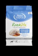 NutriSource Pet Foods PUREVITA DOG SMALL BITES TURKEY & SWEET POTATO ENTRÉE