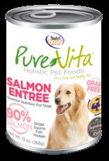 NutriSource Pet Foods PUREVITA DOG SALMON ENTRÉE 13OZ