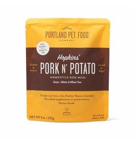 Portland Pet Food Company PORTLAND PET FOOD DOG HOPKIN'S PORK N' POTATO 9OZ