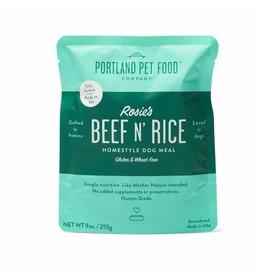 Portland Pet Food Company PORTLAND PET FOOD DOG ROSIE'S BEEF N' RICE 9OZ