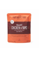 Portland Pet Food Company PORTLAND PET FOOD DOG TUXEDO'S CHICKEN & YAMS 9OZ