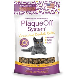 Swedencare USA PRODEN PLAQUEOFF CRUNCHY DENTAL BITES CAT TREATS 3OZ