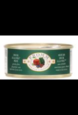 Fromm Family Pet Food FROMM CAT FOUR-STAR NUTRITIONALS DUCK À LA VEG PÂTÉ 5.5OZ