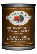 Fromm Family Pet Food FROMM DOG FOUR-STAR NUTRITIONALS SHREDDED TURKEY IN GRAVY ENTRÉE 12.2OZ