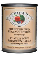 Fromm Family Pet Food FROMM DOG FOUR-STAR NUTRITIONALS SHREDDED PORK IN GRAVY ENTRÉE 12.2OZ