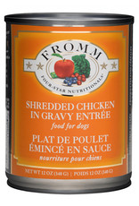 Fromm Family Pet Food FROMM DOG FOUR-STAR NUTRITIONALS SHREDDED CHICKEN IN GRAVY ENTRÉE 12.2OZ
