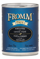Fromm Family Pet Food FROMM DOG WHITEFISH & LENTIL PÂTÉ 12.2OZ