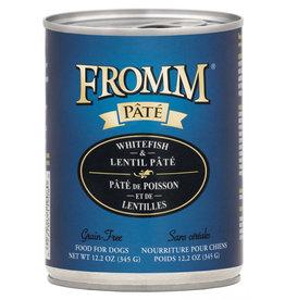 Fromm Family Pet Food FROMM DOG WHITEFISH & LENTIL PÂTÉ 12.2OZ