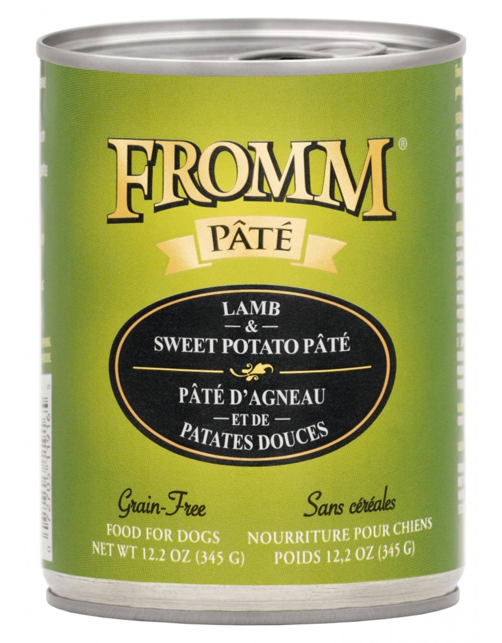 Fromm Family Pet Food FROMM DOG LAMB & SWEET POTATO PÂTÉ 12.2OZ