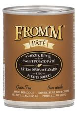 Fromm Family Pet Food FROMM DOG TURKEY, DUCK, & SWEET POTATO PÂTÉ 12.2OZ
