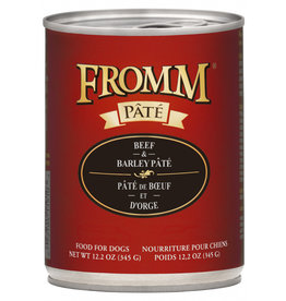 Fromm Family Pet Food FROMM DOG BEEF & BARLEY PÂTÉ 12.2OZ