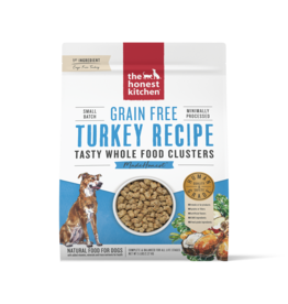 The Honest Kitchen THE HONEST KITCHEN WHOLE FOOD CLUSTERS FOR DOGS GRAIN FREE TURKEY RECIPE