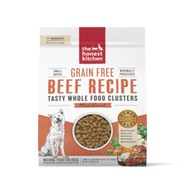 The Honest Kitchen THE HONEST KITCHEN WHOLE FOOD CLUSTERS FOR DOGS GRAIN FREE BEEF RECIPE