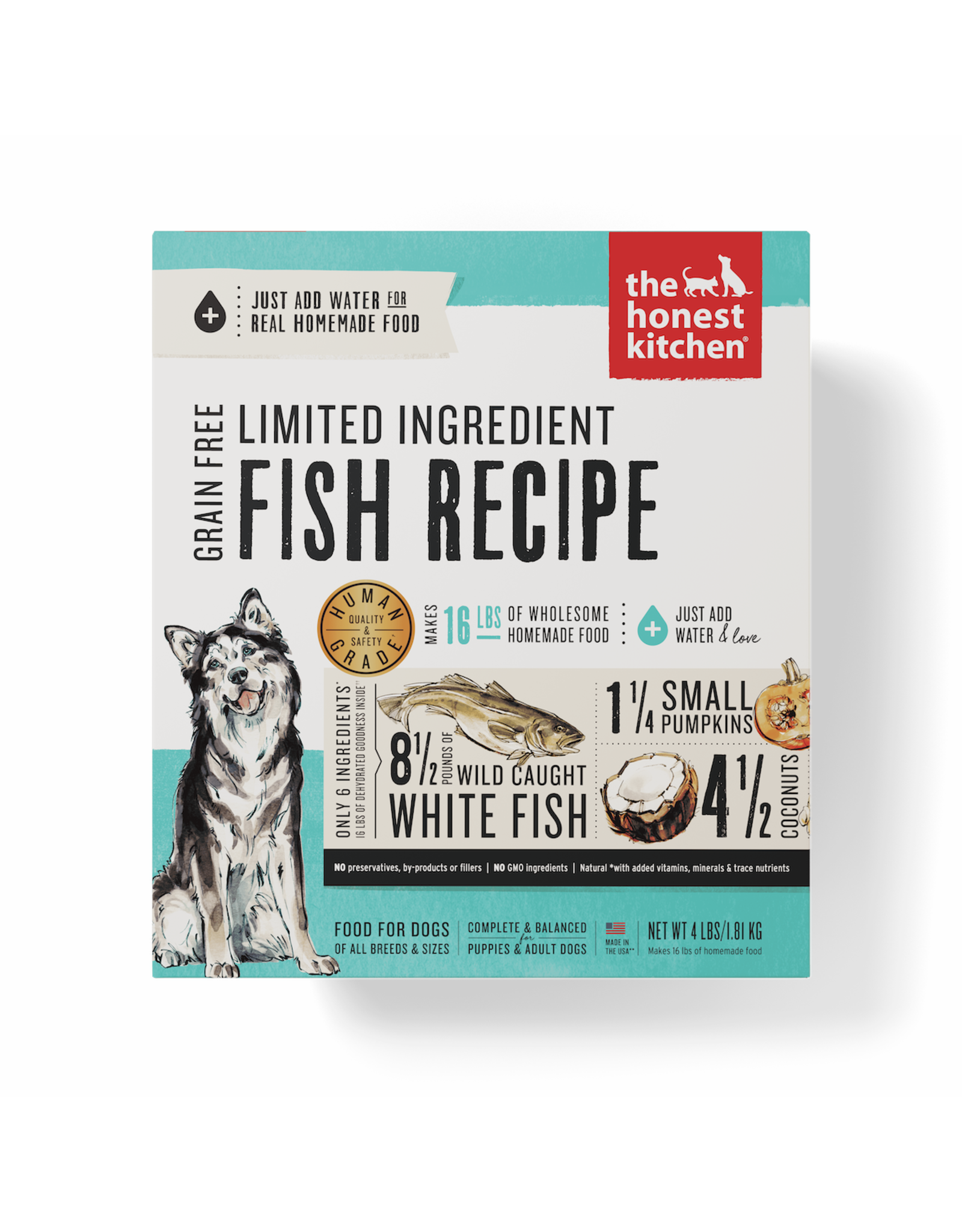 The Honest Kitchen THE HONEST KITCHEN DEHYDRATED LIMITED INGREDIENT FISH RECIPE DOG FOOD