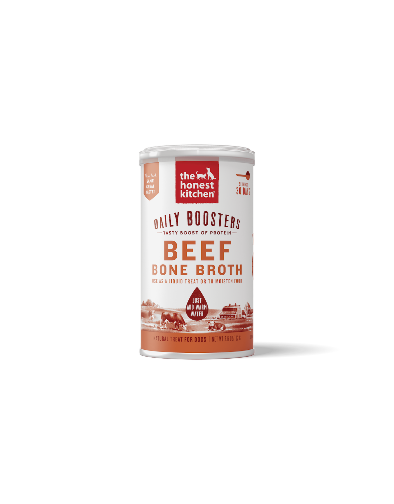 The Honest Kitchen THE HONEST KITCHEN DAILY BOOSTERS BEEF BONE BROTH