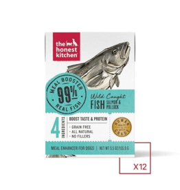 The Honest Kitchen THE HONEST KITCHEN MEAL BOOSTER 99% WILD CAUGHT FISH 5.5OZ