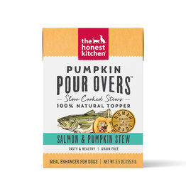 The Honest Kitchen THE HONEST KITCHEN PUMPKIN POUR OVERS SALMON & PUMPKIN STEW 5.5OZ