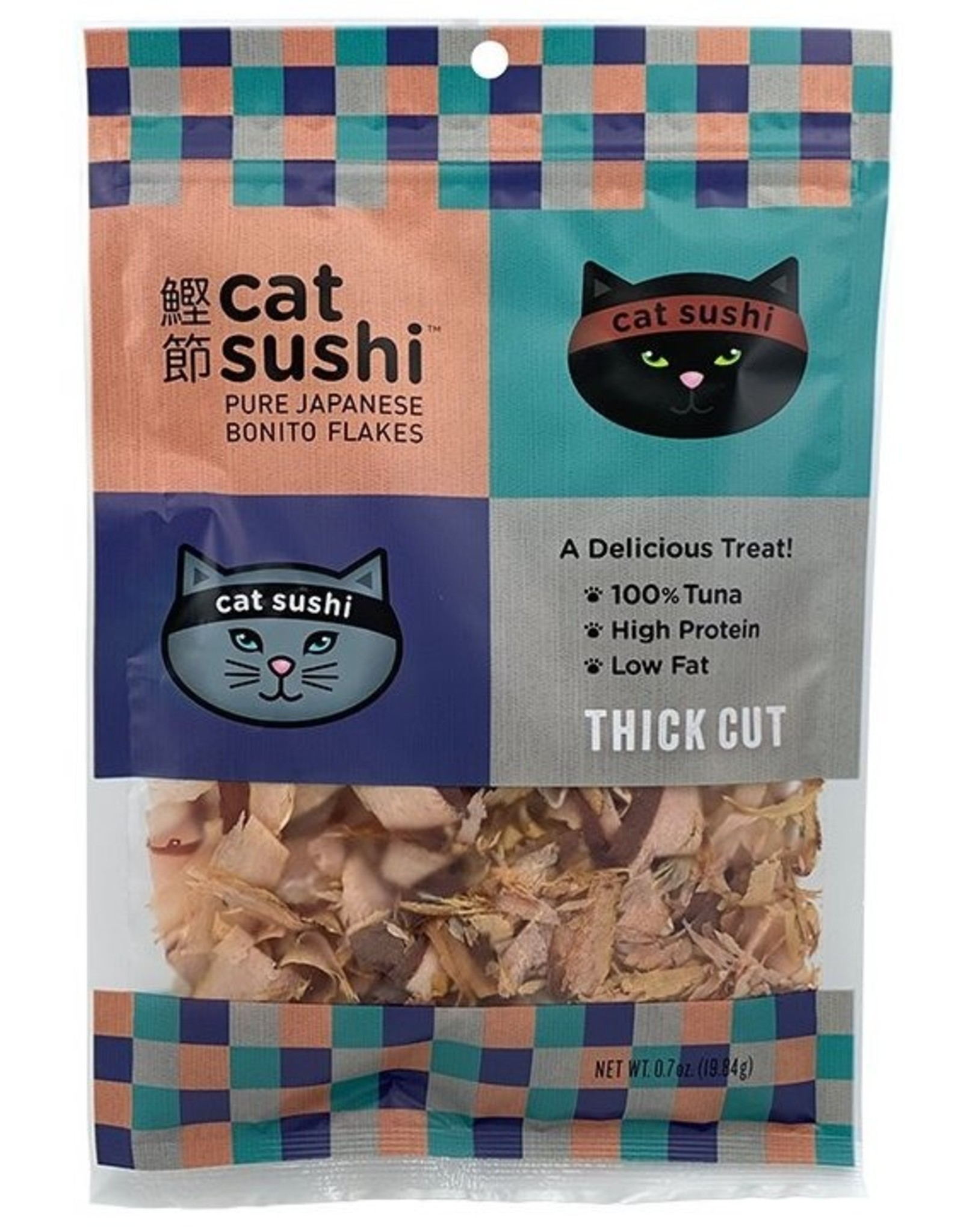 Presidio Natural Pet Co. PRESIDIO CAT SUSHI THICK CUT BONITO FLAKES .7OZ