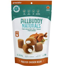Presidio Natural Pet Co. PRESIDIO PILL BUDDY NATURALS DOG ROASTED CHICKEN RECIPE 30-COUNT