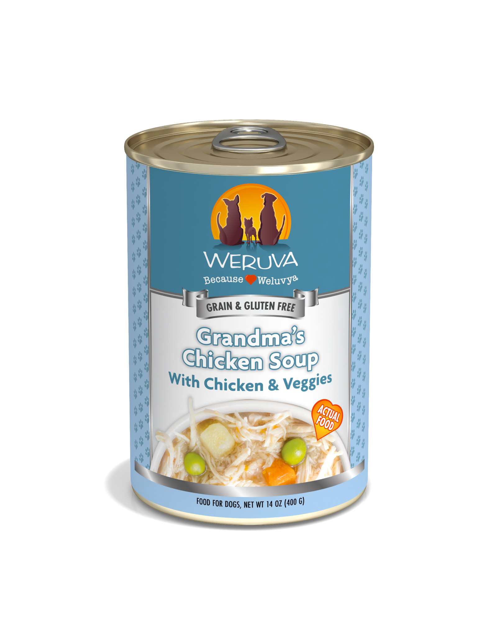 Weruva WERUVA DOG GRANDMA'S CHICKEN SOUP WITH CHICKEN & VEGGIES