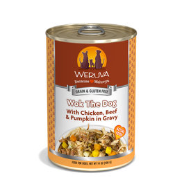 Weruva WERUVA DOG WOK THE DOG WITH CHICKEN, BEEF & PUMPKIN IN GRAVY