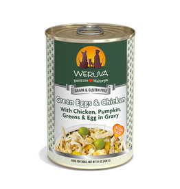 Weruva WERUVA DOG GREEN EGGS & CHICKEN WITH CHICKEN, PUMPKIN, GREENS & EGG IN GRAVY