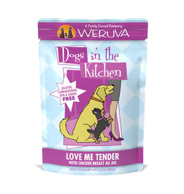Weruva WERUVA DOG DOGS IN THE KITCHEN LOVE ME TENDER WITH CHICKEN BREAST AU JUS 2.8OZ