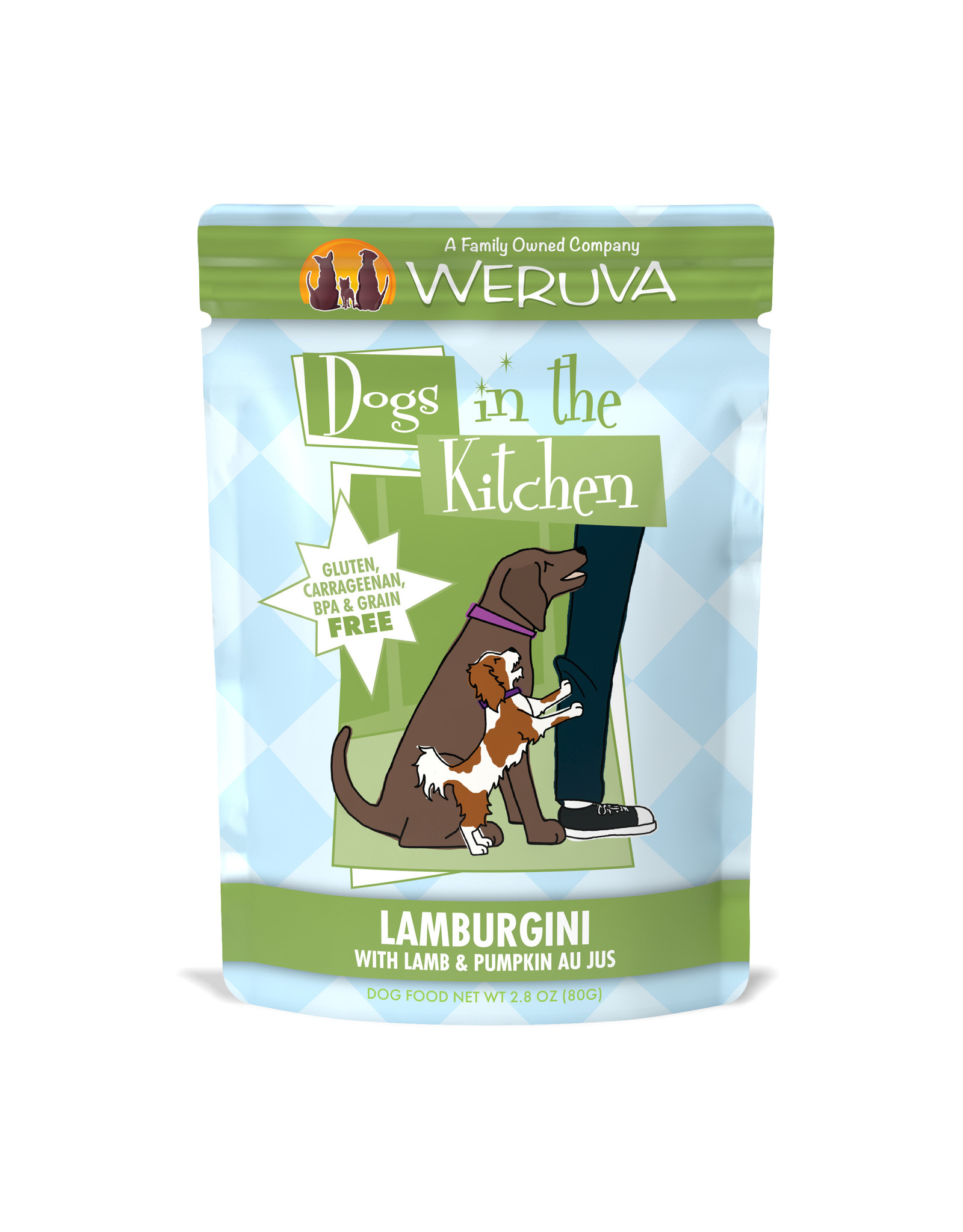 Weruva WERUVA DOG DOGS IN THE KITCHEN LAMBURGINI WITH LAMB & PUMPKIN AU JUS 2.8OZ