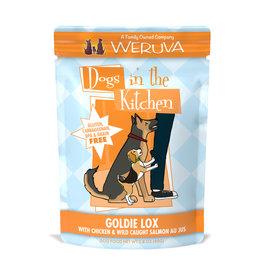 Weruva WERUVA DOG DOGS IN THE KITCHEN GOLDIE LOX WITH CHICKEN & WILD-CAUGHT SALMON AU JUS 2.8OZ