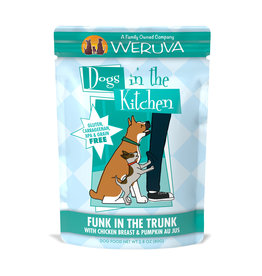 Weruva WERUVA DOG DOGS IN THE KITCHEN FUNK IN THE TRUNK WITH CHICKEN & PUMPKIN AU JUS 2.8OZ