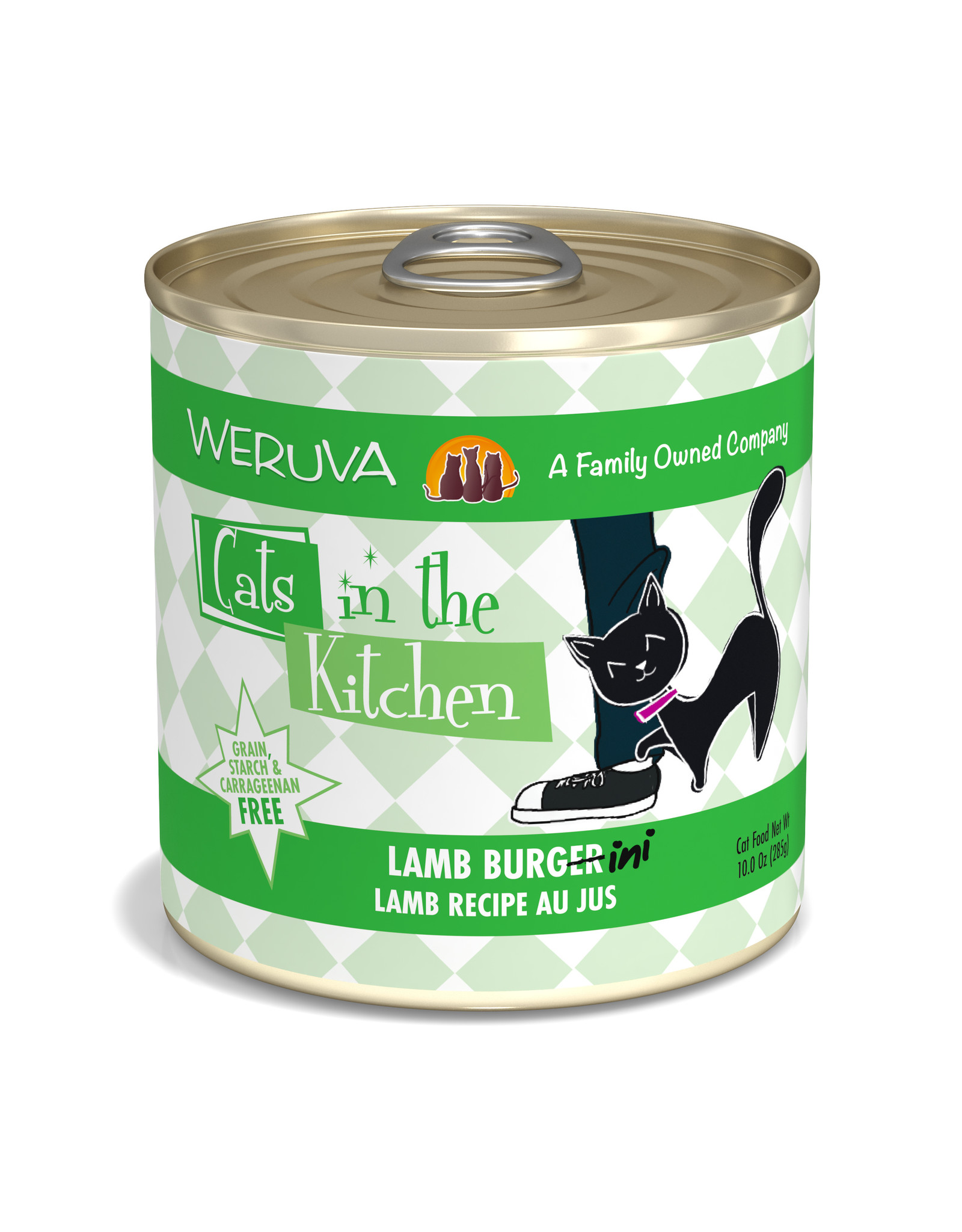 Weruva WERUVA CAT CATS IN THE KITCHEN LAMB BURGER-INI LAMB RECIPE AU JUS