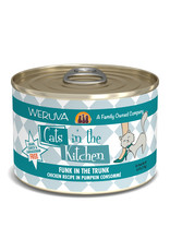 Weruva WERUVA CAT CATS IN THE KITCHEN FUNK IN THE TRUNK CHICKEN RECIPE IN PUMPKIN CONSOMMÉ