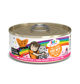 Weruva WERUVA CAT B.F.F. OMG START ME UP TUNA & SALMON DINNER IN GRAVY 5.5OZ