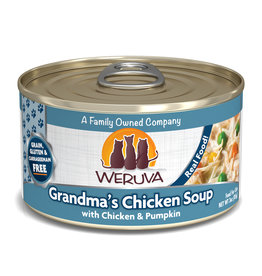 Weruva WERUVA CAT GRANDMA'S CHICKEN SOUP WITH CHICKEN & PUMPKIN