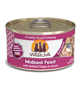 Weruva WERUVA CAT MIDEAST FEAST WITH GRILLED TILAPIA IN GRAVY