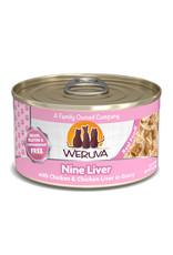 Weruva WERUVA CAT NINE LIVER WITH CHICKEN & CHICKEN LIVER IN GRAVY