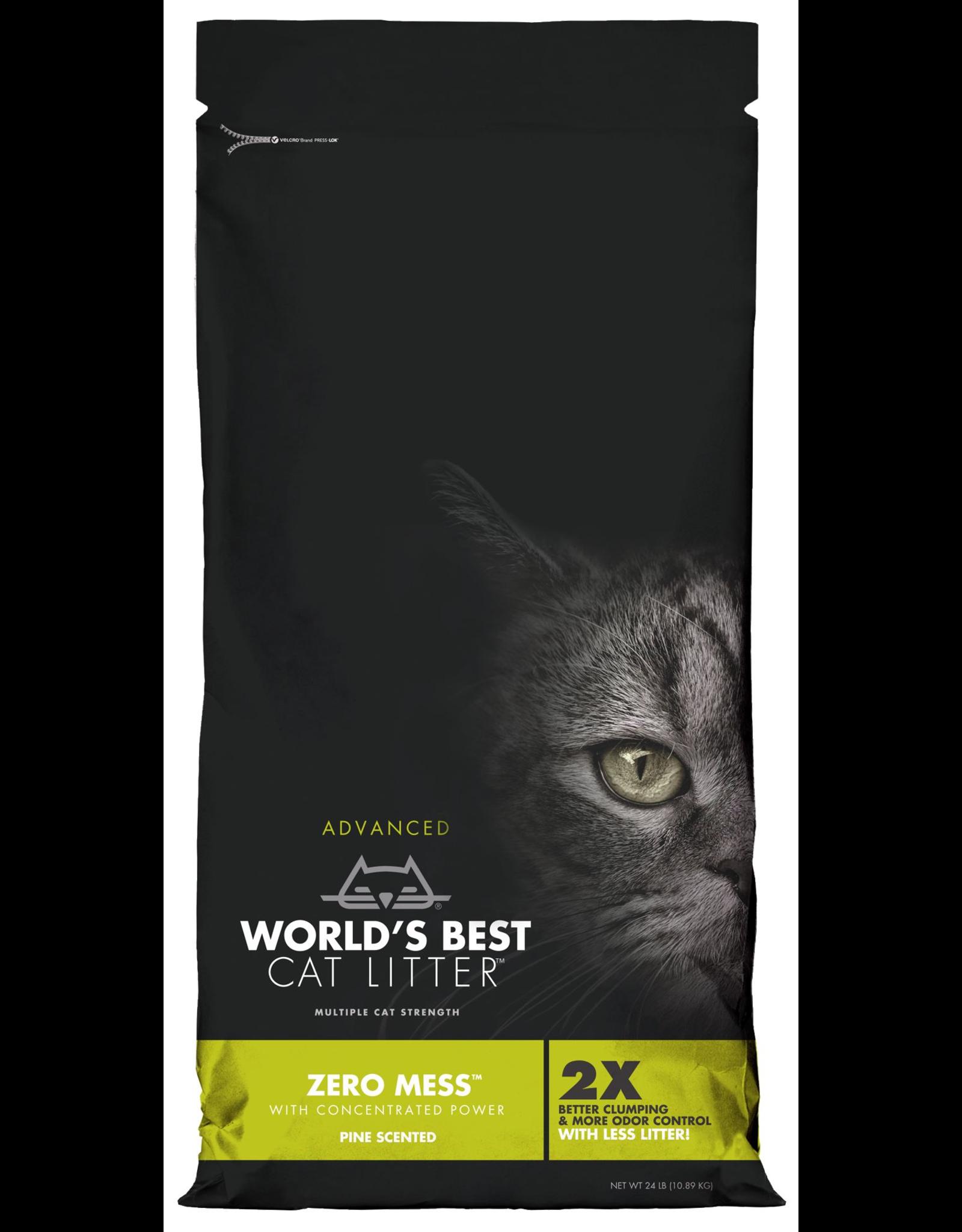 World's Best Cat Litter WORLD'S BEST CAT LITTER ADVANCED ZERO MESS PINE SCENTED