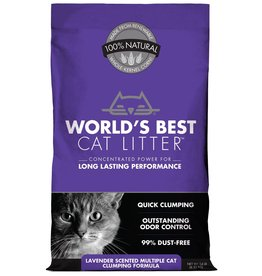 World's Best Cat Litter WORLD'S BEST CAT LITTER MULTIPLE CAT FORMULA LAVENDER SCENTED 14LB