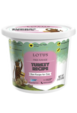 Lotus Pet Foods LOTUS CAT RAW TURKEY RECIPE