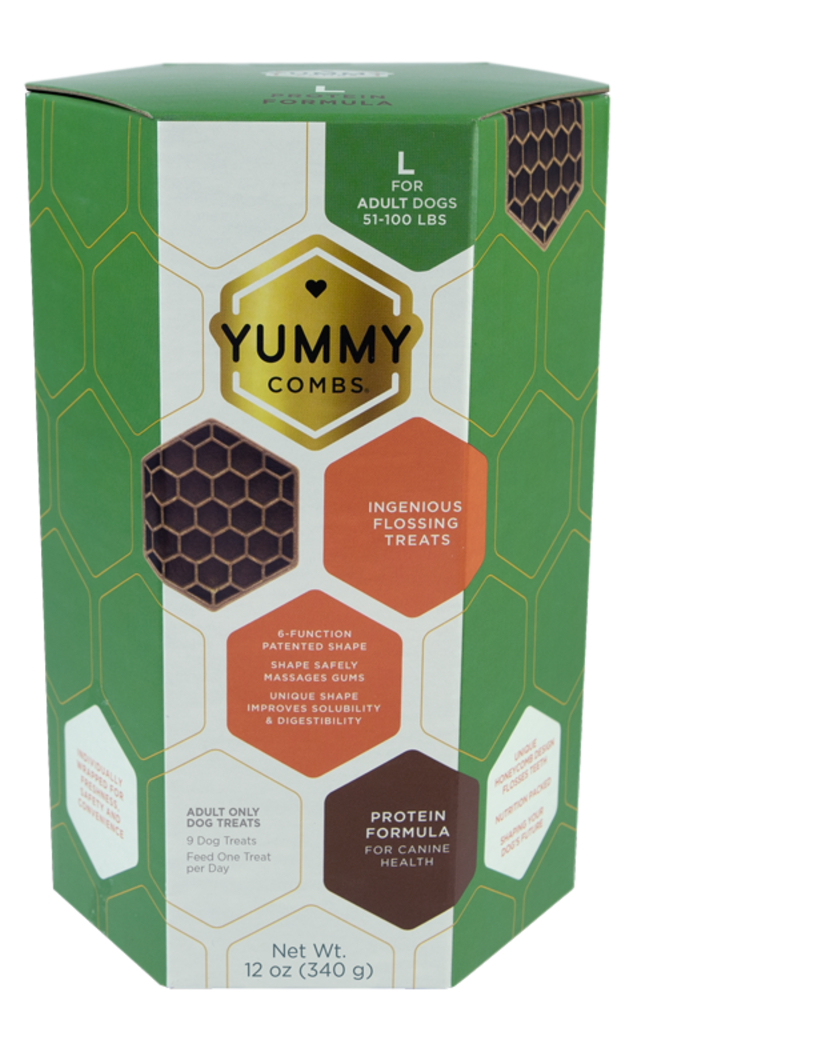 Pet's Best Life YUMMY COMBS PROTEIN FORMULA