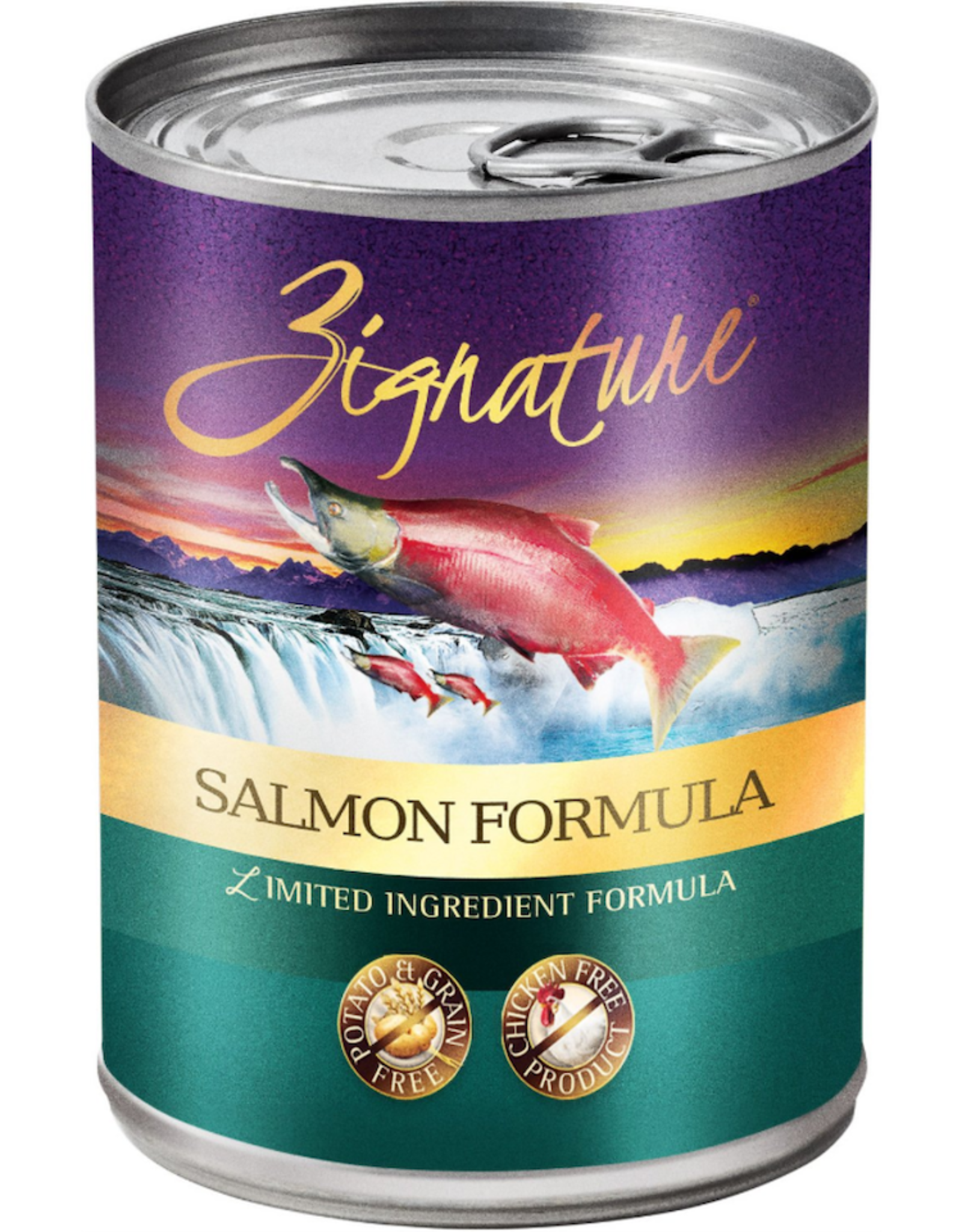Zignature ZIGNATURE DOG SALMON FORMULA 13OZ