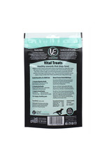Vital Essentials VITAL ESSENTIALS FREEZE-DRIED WILD ALASKAN SALMON RINGS TREATS FOR DOGS 1OZ
