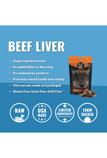 Vital Essentials VITAL ESSENTIALS FREEZE-DRIED BEEF LIVER TREATS FOR DOGS 2OZ